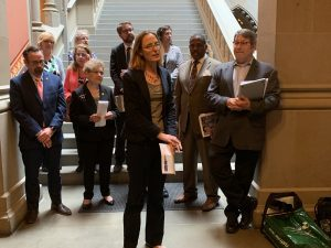 Schuyler Center, along with The Children's Agenda, the United Way of New York State and the Fiscal Policy Institute, called on legislators to expand and strengthen New York's working family tax credits